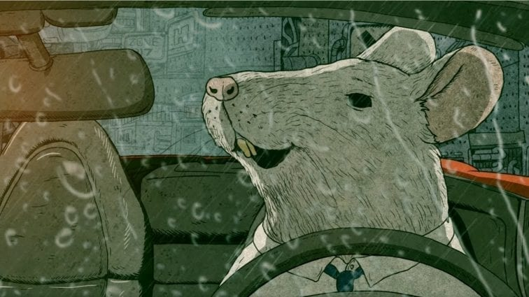Real Life Cartoon: In the Search of Happiness - The Rat Race