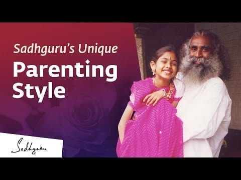 Parenting: How Sadhguru Nurtured His Daughter Radhe petworldglobal.com