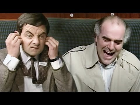 Taking The TRAIN | Funny Clips | Mr Bean Official petworldglobal.com