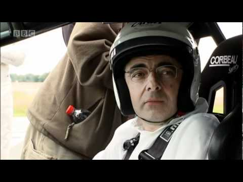 Rowan Atkinson behind the scenes | Top Gear | BBC